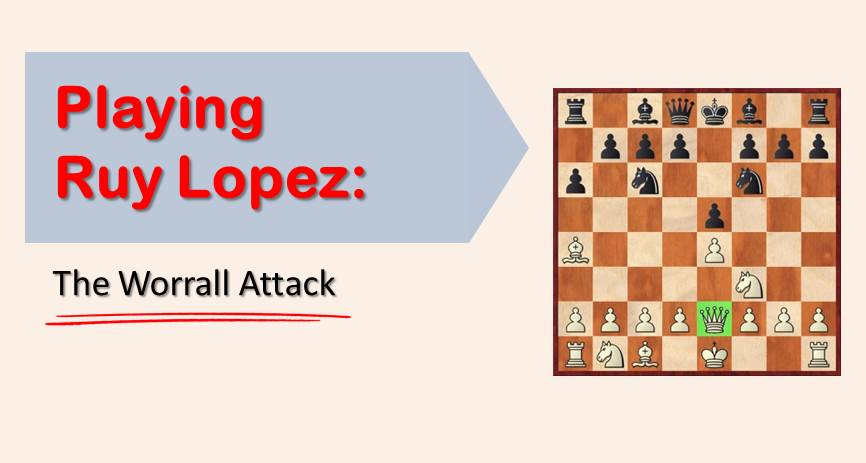 Playing Ruy Lopez:  The Worrall Attack