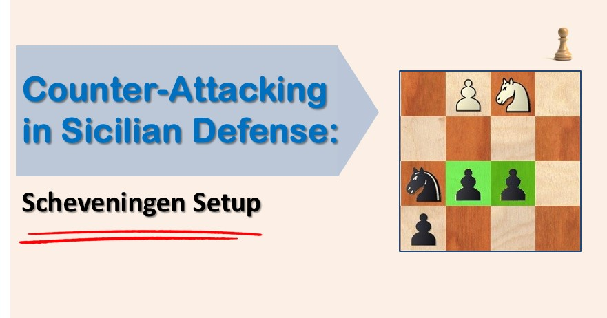 Counter-Attacking in Sicilian Defense: Scheveningen Setup