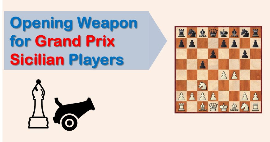 Opening Weapon for Grand Prix Sicilian Players