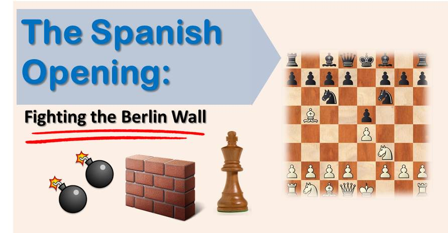The Spanish Opening: Fighting the Berlin Wall
