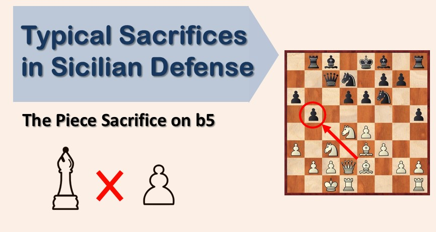 Typical Sacrifices in Sicilian Defense: The Piece Sacrifice on b5