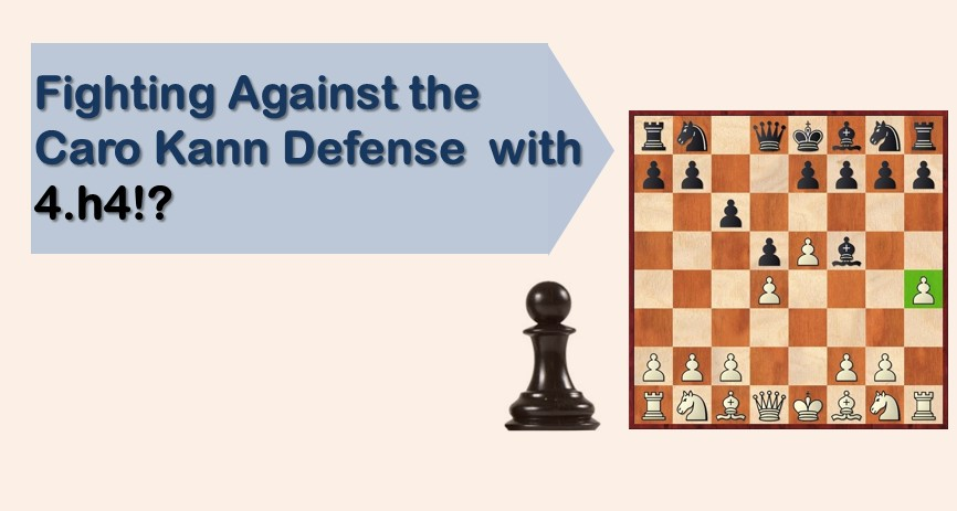 Fighting Against the Caro Kann Defense with 4.h4!?