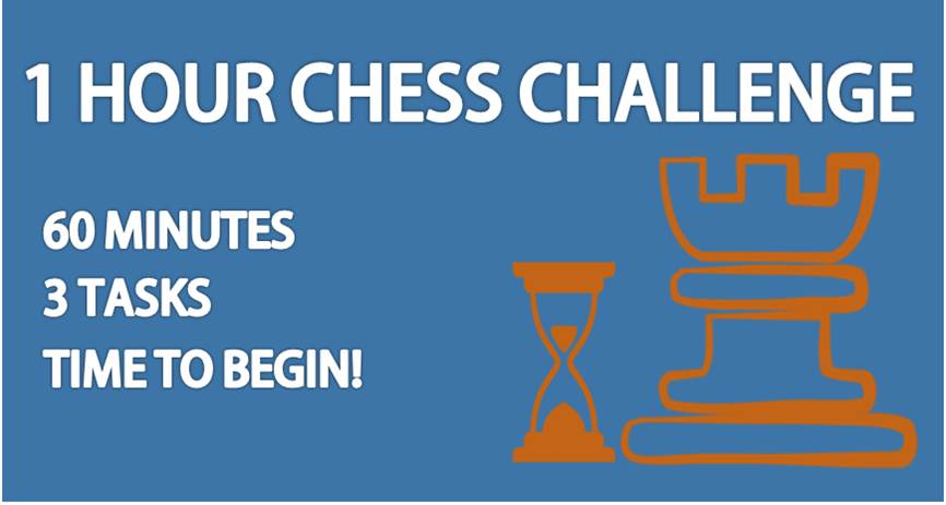 one hour chess challenge