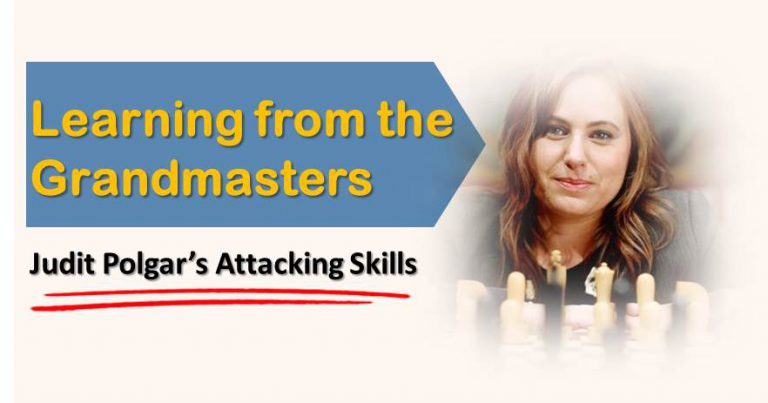 Judit Polgar Attacking Skills