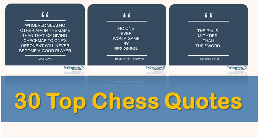 30 Top Chess Quotes