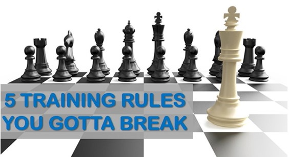 5 Chess Training Rules You Gotta Break