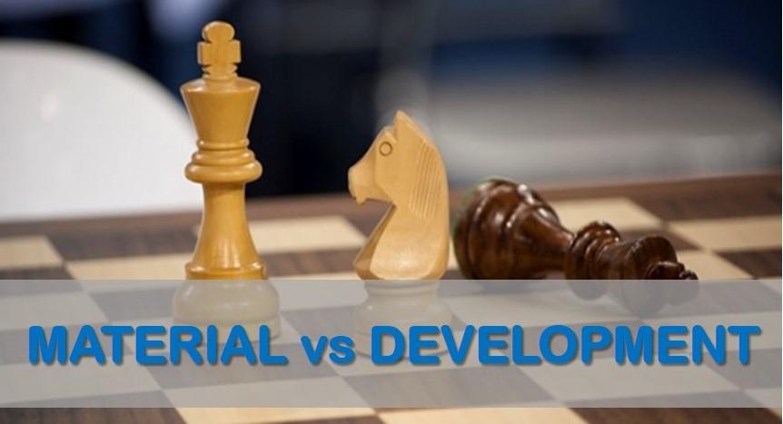 Material vs. Development: The Compensation Concept