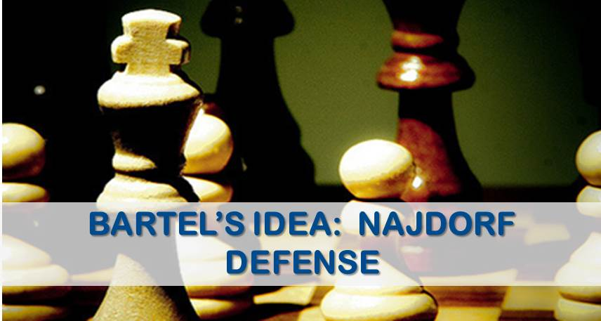 Bartel's Fresh Idea in The Najdorf Defense