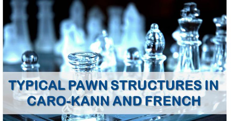 french and karo pawn structures