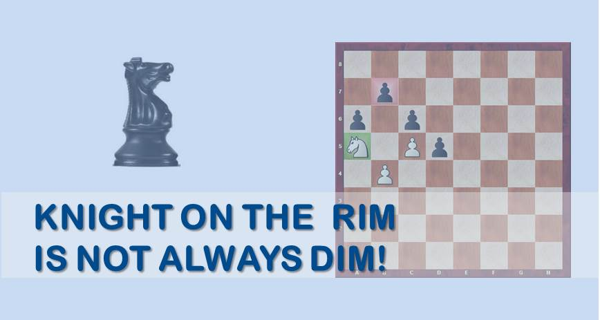 Knight on The Rim is Not Always Dim!