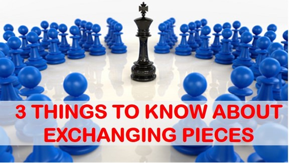 3 ideas to exchange pieces