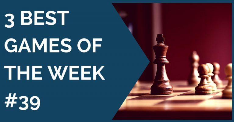 3 best games of the week