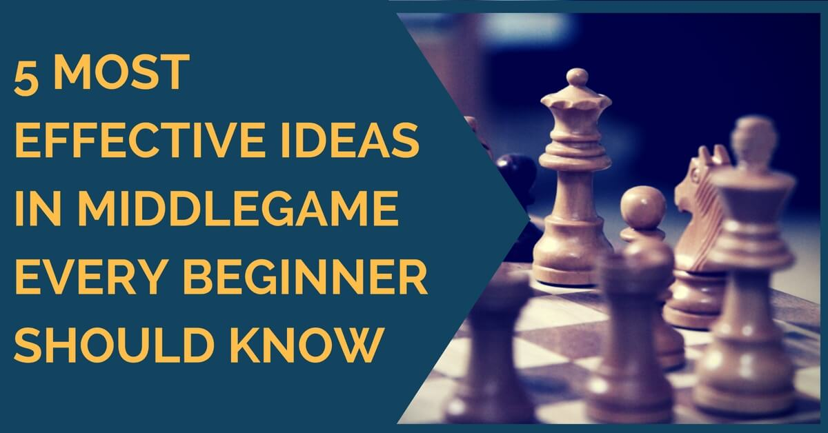 5 Most Effective Middlegame Ideas  Every Beginner Should Know