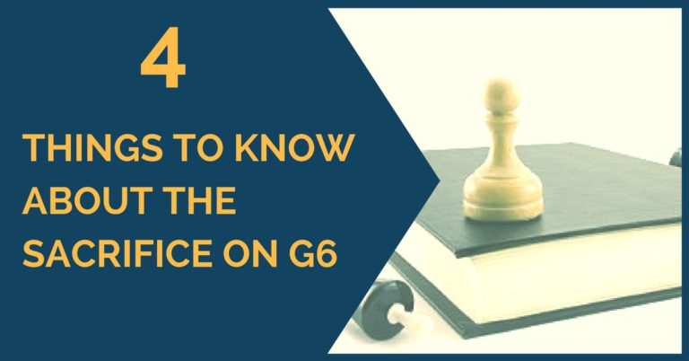 4 things to know about sacrifice g6