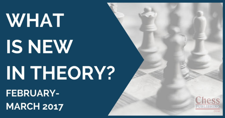 what's new in theory March 2017