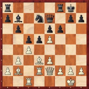 Rubinstein improves chess positions
