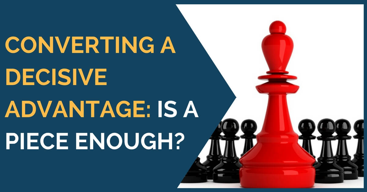converting chess advantage