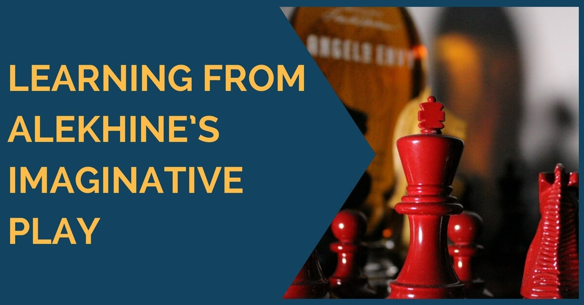 Learning from Alekhine's Imaginative Play