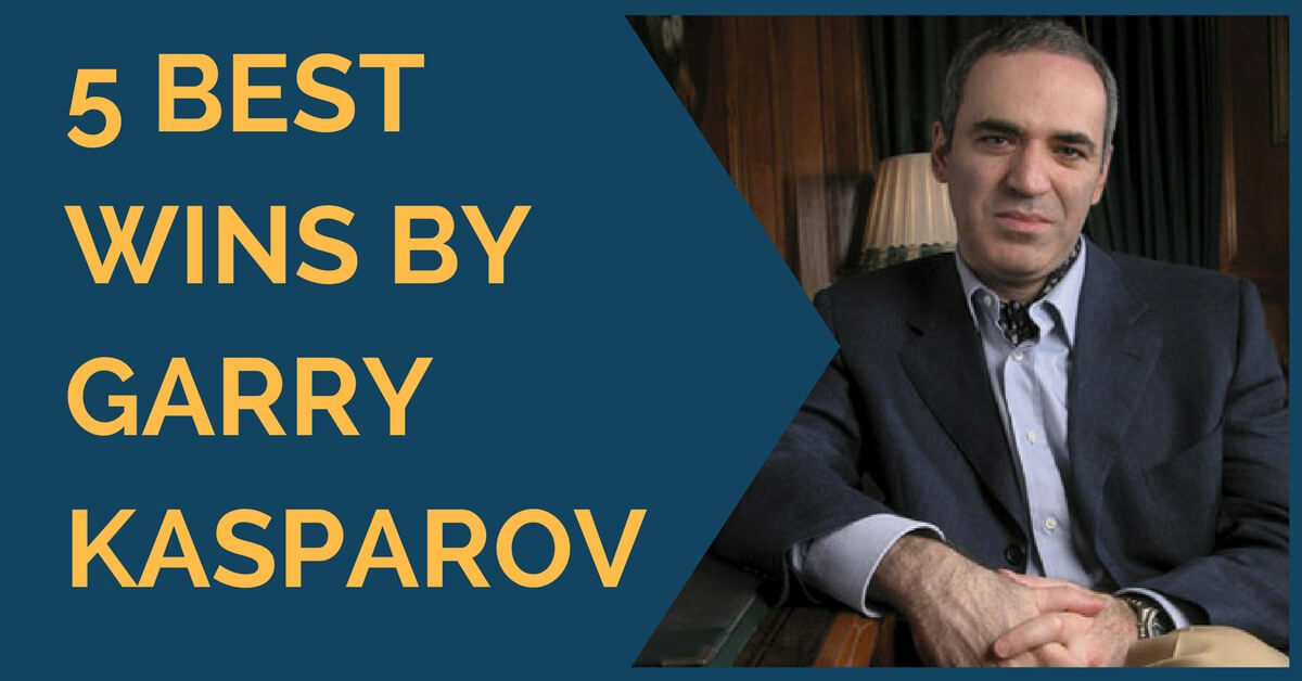 garry kasparov best wins