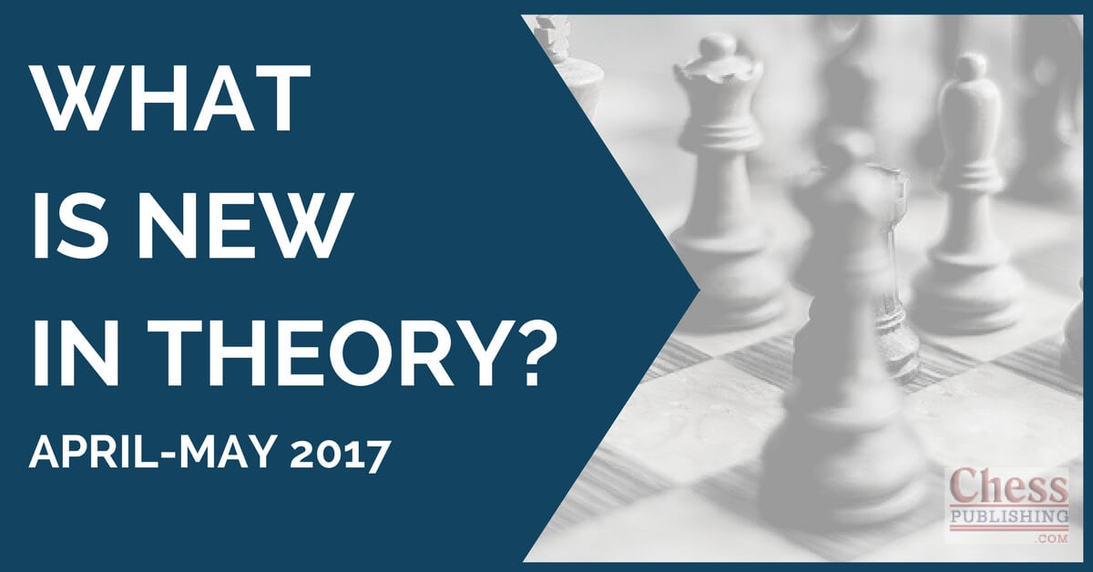 What is New in Theory? (April-May 2017)