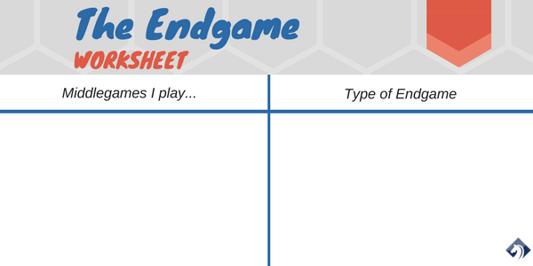 chess endgame worksheet