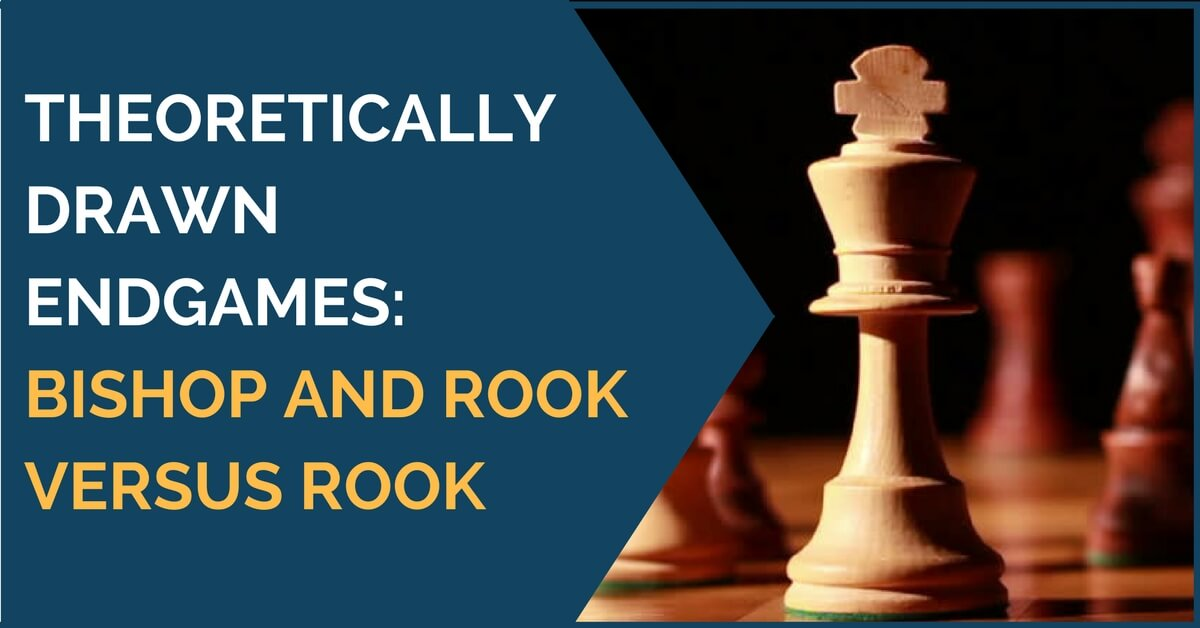 Theoretically Drawn Endgames: Bishop and Rook versus Rook