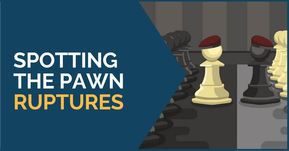 spotting the pawn ruptures