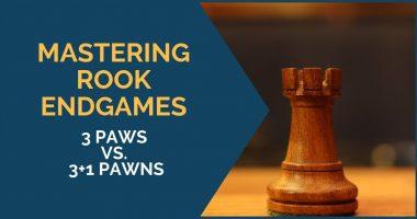 Mastering Rook Endgames: 3 vs. 3+1 Pawns