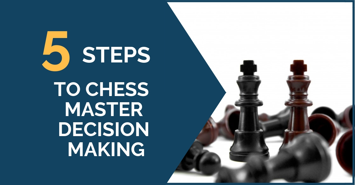 5 steps chess decision making