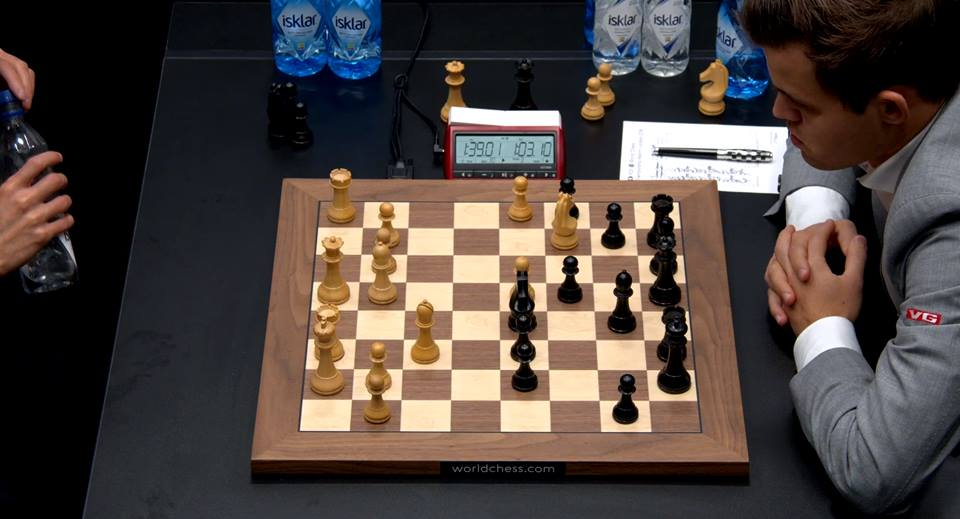 carlsen struggled in game 8