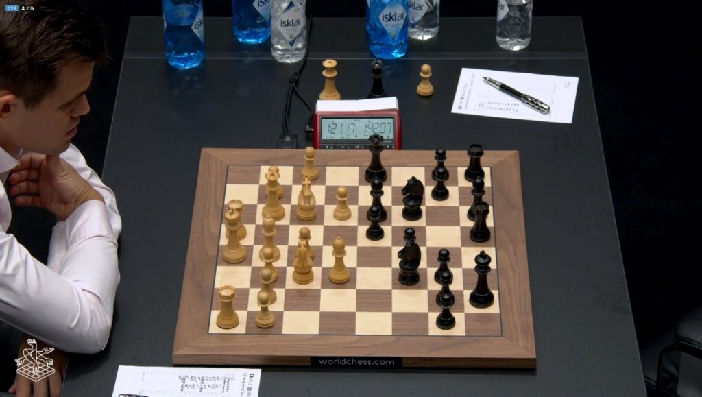 world chess championship 2018 game 2