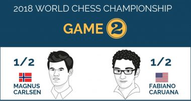 World Chess Championship 2018 – Game 2