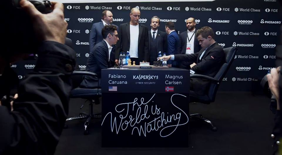 world chess championship 2018 round 1