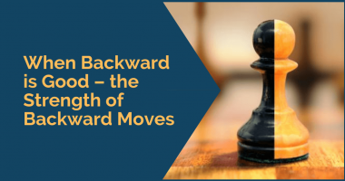 When Backward is Good – the Strength of Backward Moves