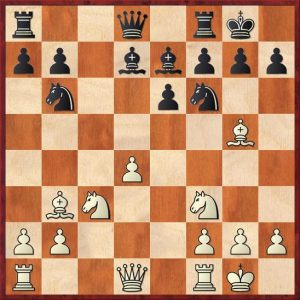 isolated pawn - position 1