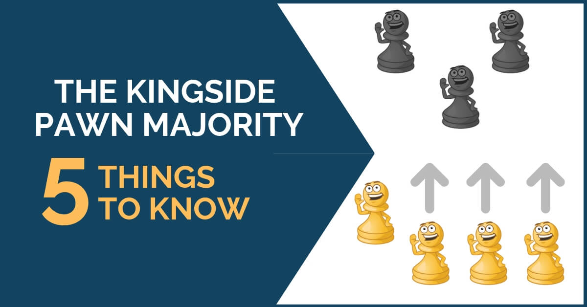 kings side pawn majority