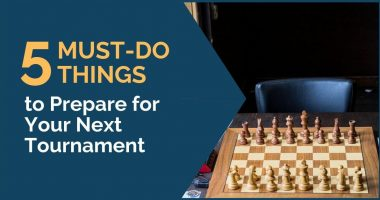 5 Must-Do Things to Prepare for Your Next Tournament