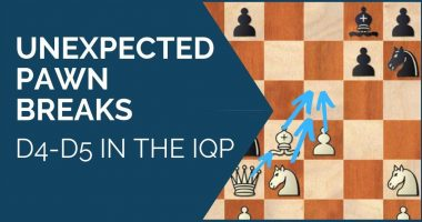 Unexpected Pawn Breaks – d4-d5 in the IQP