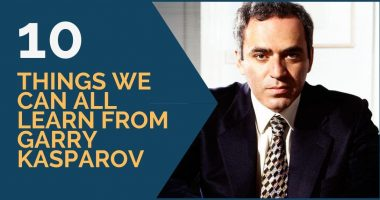 10 Things We Can all Learn from Garry Kasparov
