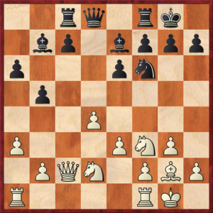 Kramnik, V – Carlsen, M, Dortmund 2007 White to play