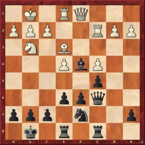 Pinter,E – Nisipeanu, L.D., Pardubice 2014 Black to play