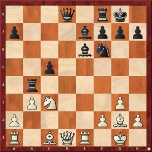 Liren Ding – Ian Nepomniachtchi, 2020 White to play