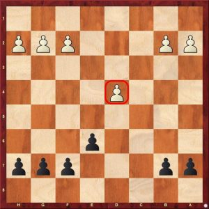 chess strategy - isolated pawn