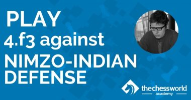 Play 4. f3 Against the Nimzo-Indian Defense [TCW Academy]