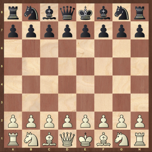 rules of chess - starting position