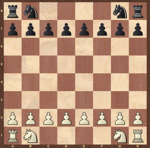 rules of chess - setting up the knights