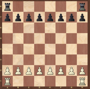 rules of chess - setting up rooks