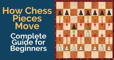 How Chess Pieces Move: The Complete Chess Pieces Guide for Beginners