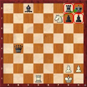 Chess Tactics smothered mate