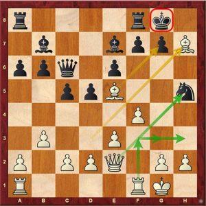Chess Tactics lasker sacrifice